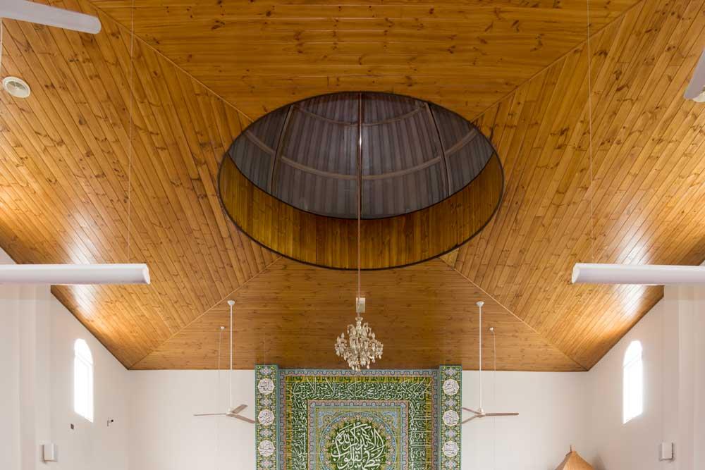 Ceiling  Revarnishing