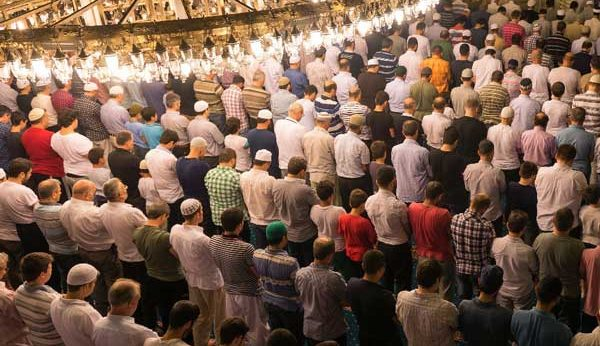 Taraweeh prayers times
